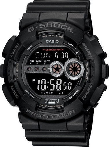 CASIO GD-100-1B-שעוני קסיו